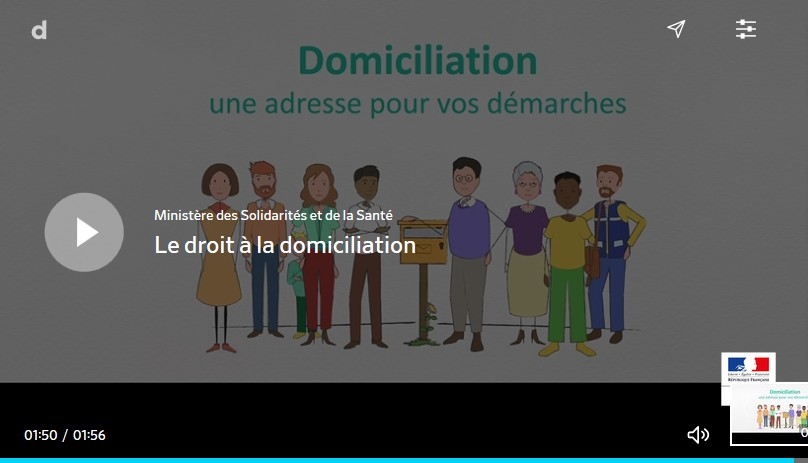 video domiciliation